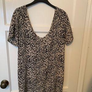 Silk Leopard print dress by TUCKER